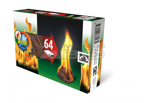 HANSA Uguns iededzinātājs 0.4k g bez aizsviles 64pac (Firesta