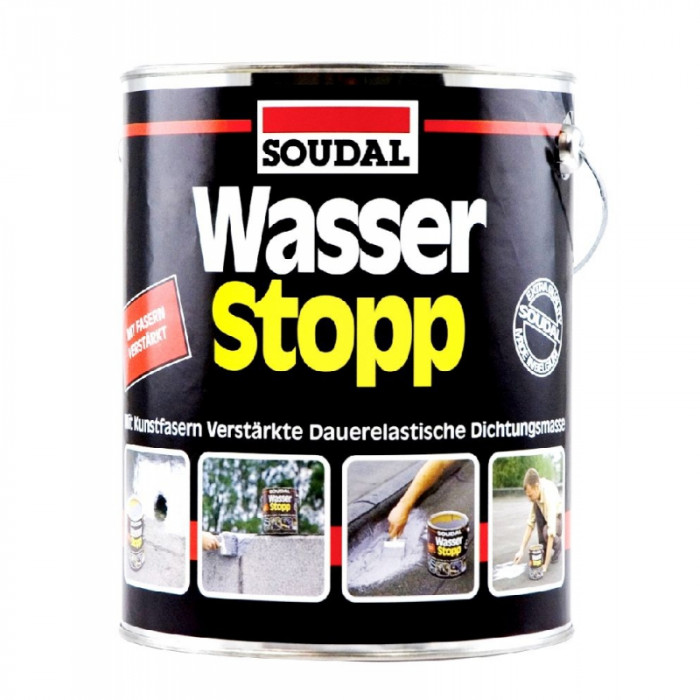 Soudal Wasser Stopp Protective roof coating 750g