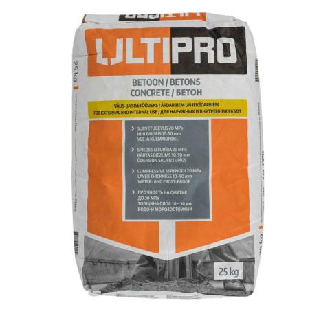 ULTIPRO  C20  25kg  Sausais betons (Novipro)