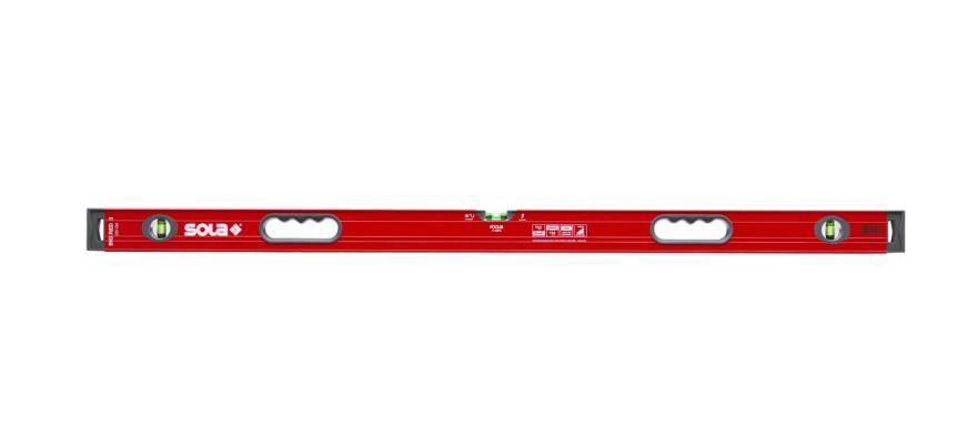 Уровень SOLA Big Red 3150, алюминиевый корпус с ручками, 01219501