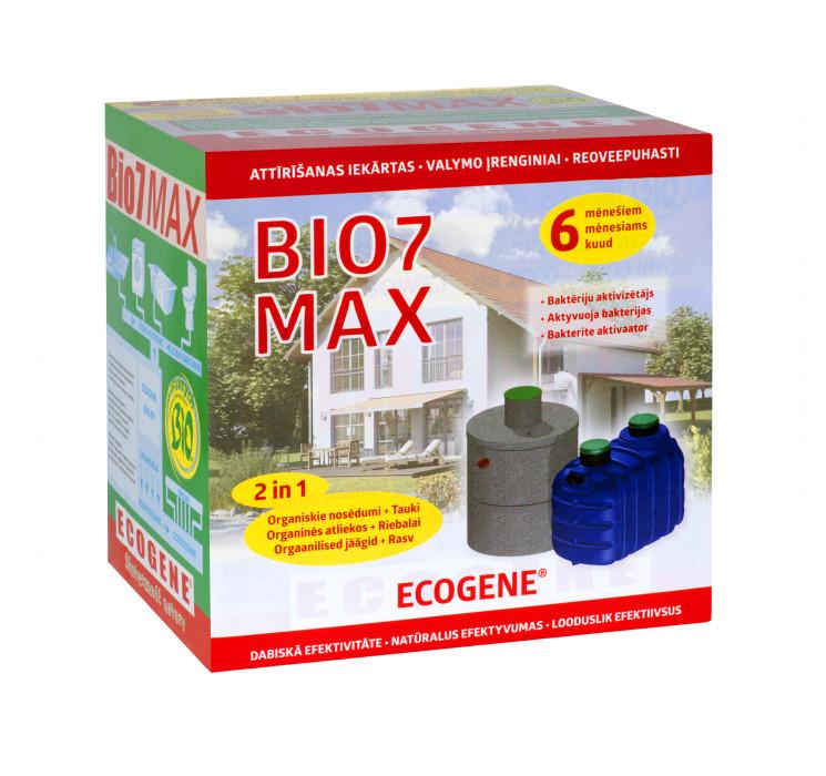 Biological activator BIO7 MAX  1kg, universal for septic tanks