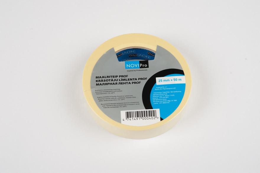 NOVIPRO masking tape 25mm x 50m  PROF