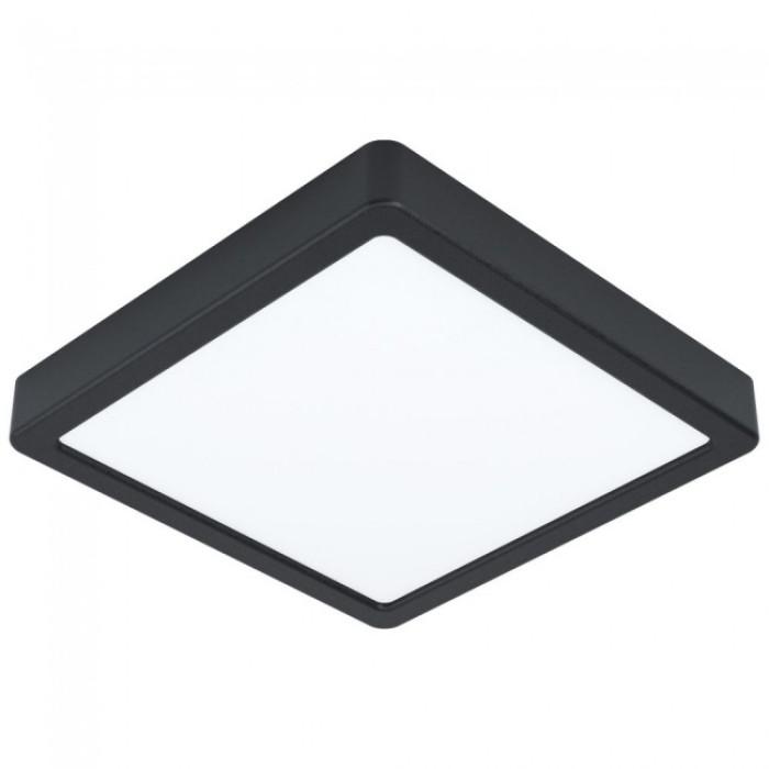 Потолочный / настенный светильник EGLO Fueva5 LED 16W square black 99244