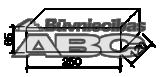 Lodes pilnais dūmvadu ķieģ.250x120x65brūns 344gb/palL,GL Brunis