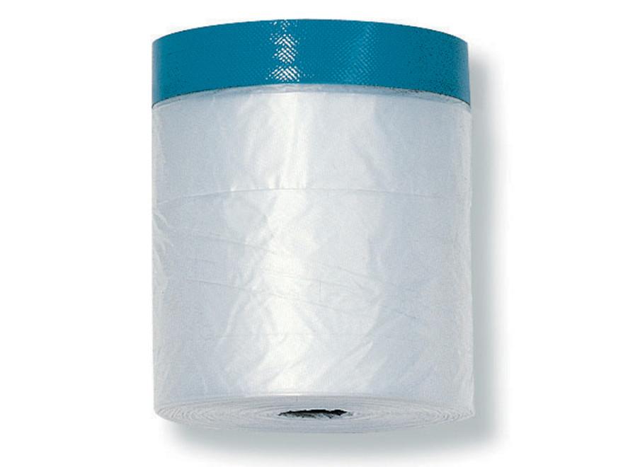 COLOR EXPERT CQ Poly/Fabric thick 55cmx14m, K 10cm Band light blue UV21