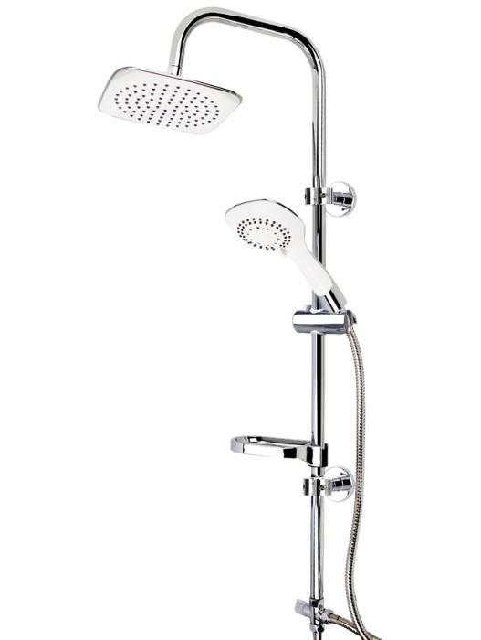 Duschy Dušas panelis DOLPHINgriestu duša 20x20cm , 455-90