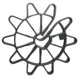 Ограничитель арматуры для вертикальных констр. VR 40/8-18 mm, 50 шт/упak.
