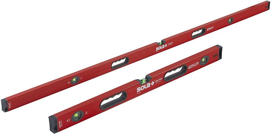 Уровень SOLA Big RedM 3180, корпусный магнит AL с ручками, 1816601