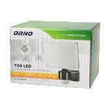 LED floodlight with PIR sensor 240 ° 30W 2200lm 4000K IP65 black OR-NL-6148BLR4