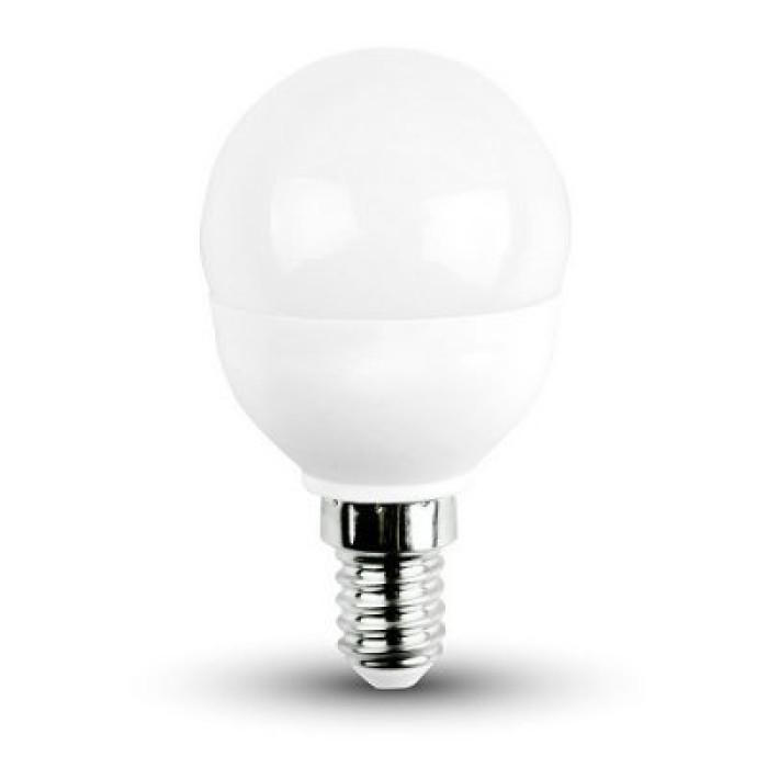 Bulb LED ball 8W E14 750lm 3000K