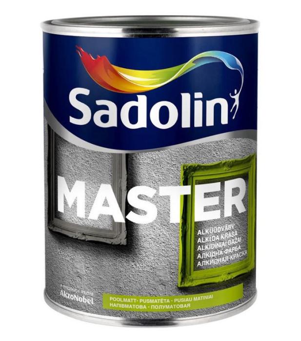 Sadolin ALKYD ENAMEL PAINT MASTER 30 BC 0.93L Semi-matt
