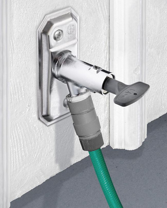 Outdoor faucet - with key Self-draining, 30-1000 mm