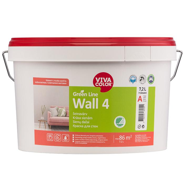 VIVACOLOR GL Wall 4 A 7.2L Full matt wall paint