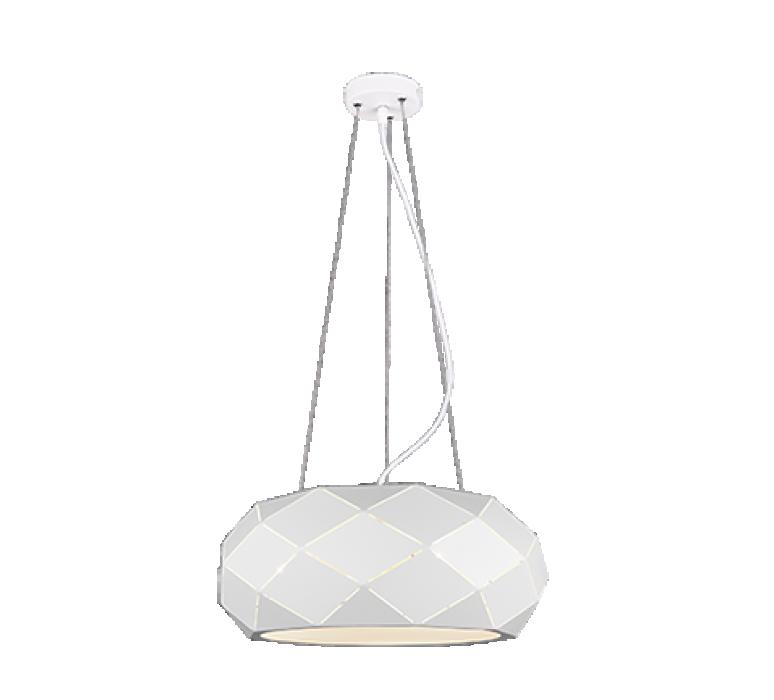 Потолочный светильник TRIO Zandor 3XE27 max25W белый 303500331