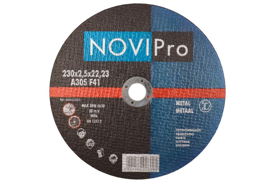 Griezējdisks metāla 230X2.5 PL Novipro