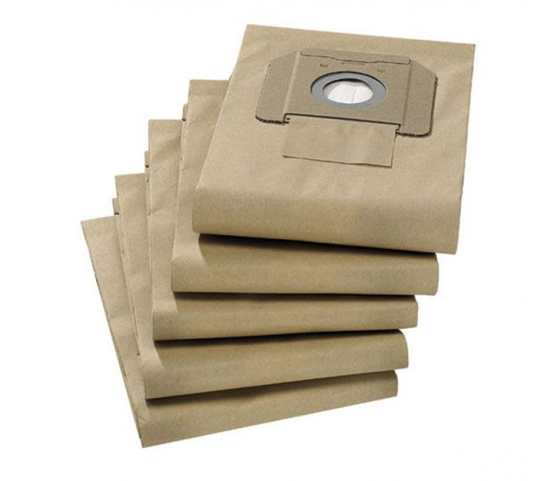 Karcher Pack Of 5 Paper Class M Dust Bags