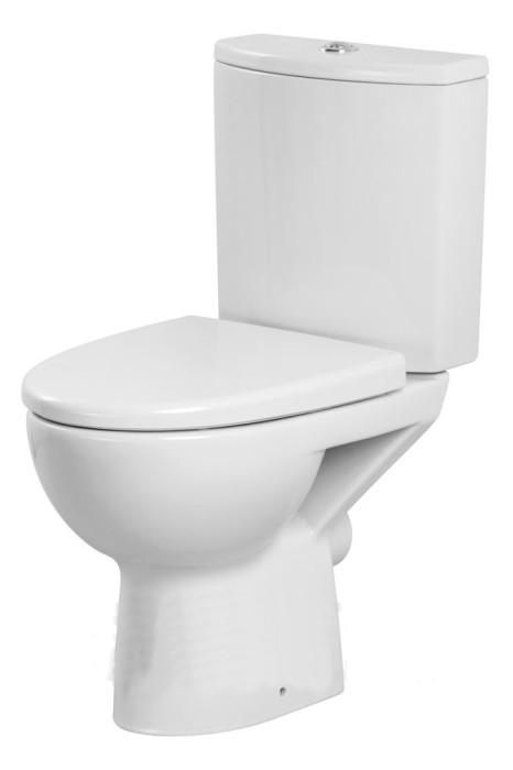 Cersanit WC PARVA 020 grīdā ar vāku 3/6 L