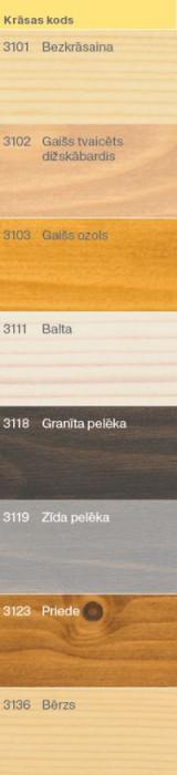 Osmo Wood Wax Finish Silk Grey (3119) 0,125 L