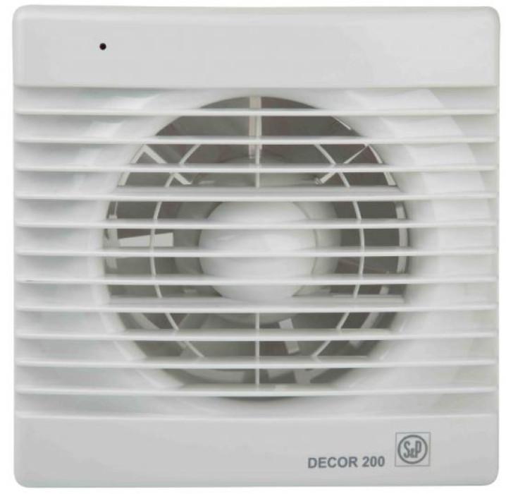 Ventilators Decor 200 C ar  žal, 180 m3/h, D120mm