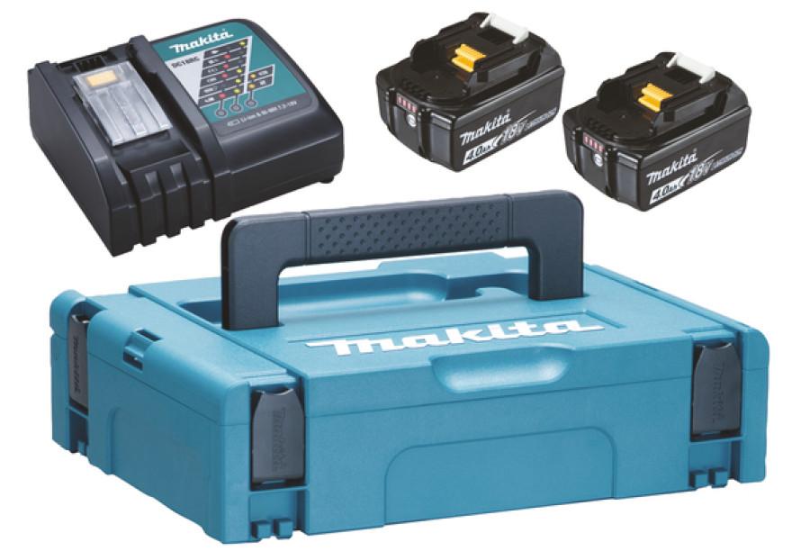 Makita charger PowerPack 18V 2xBL1840B DC18RC 197494-9