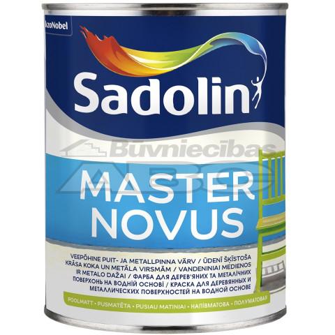 Sadolin MASTER NOVUS 15 BW  1l  Alkīda krāsa uz ūdens bāzes