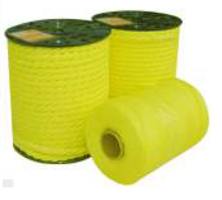 Striķi ruļļos D  3mm (dzelt.)  1700m, 165kg