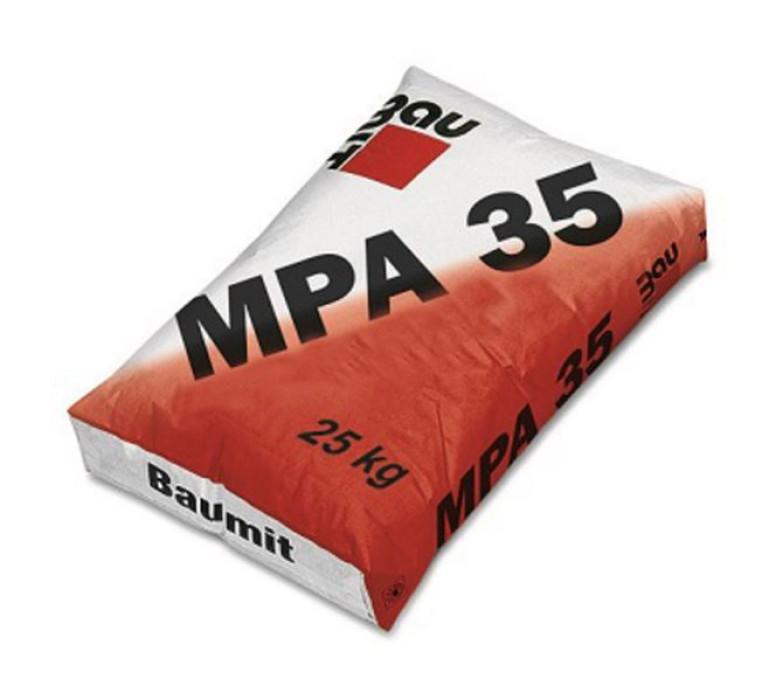 Baumit MPA35 25kg Kaļķa-cementa ašīnapmetums iekš/ārdarbiem