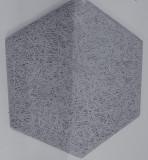 Dizaina plāksne 289x250x25mm,1mm skaida,P7,pelēks