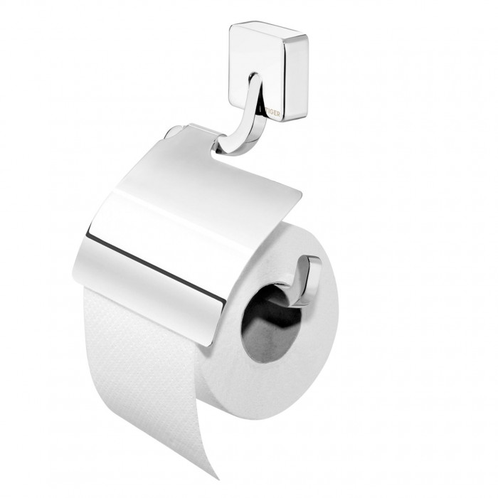 IMPULS toilet paper roll-holder with lid