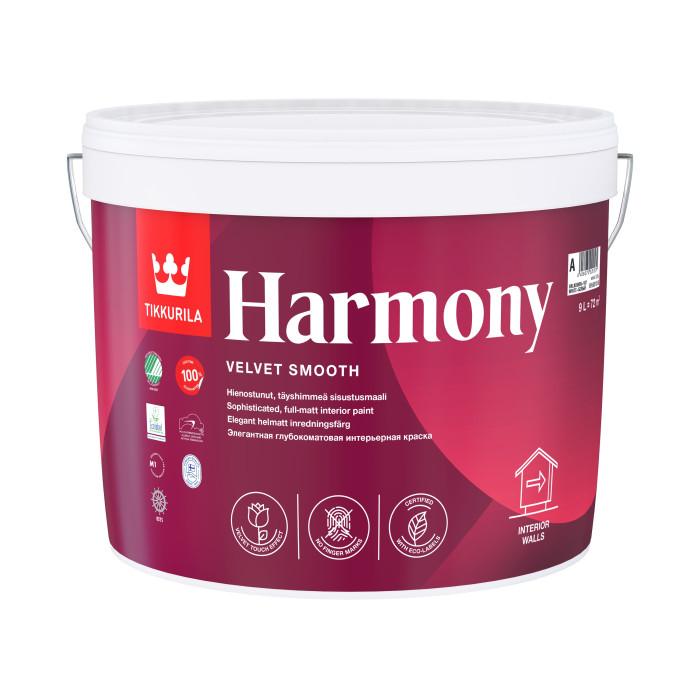 Tikkurila HARMONY A 9L acrylate latex paint