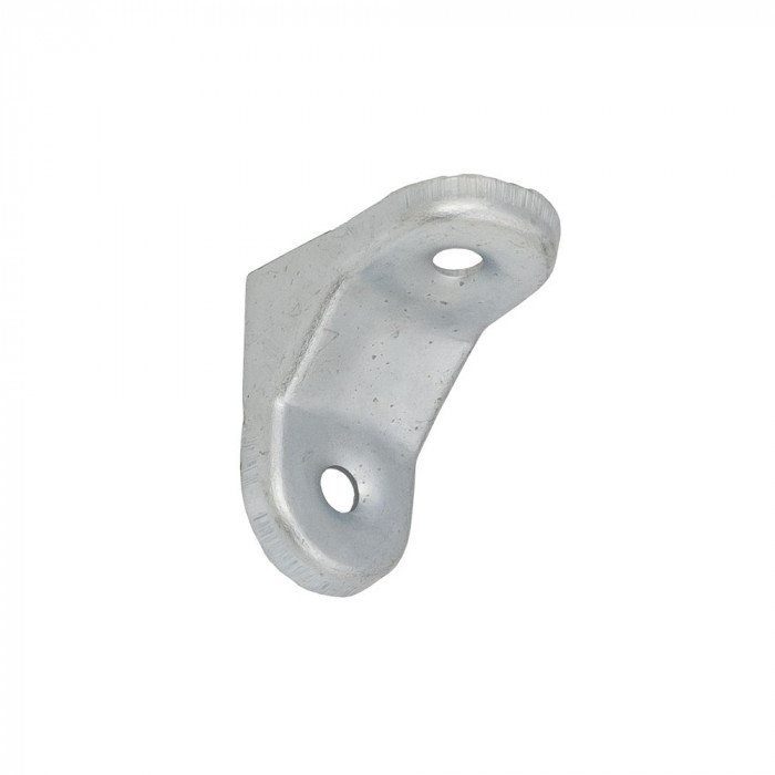 Steel bracket 30x30 mm galvanized silver