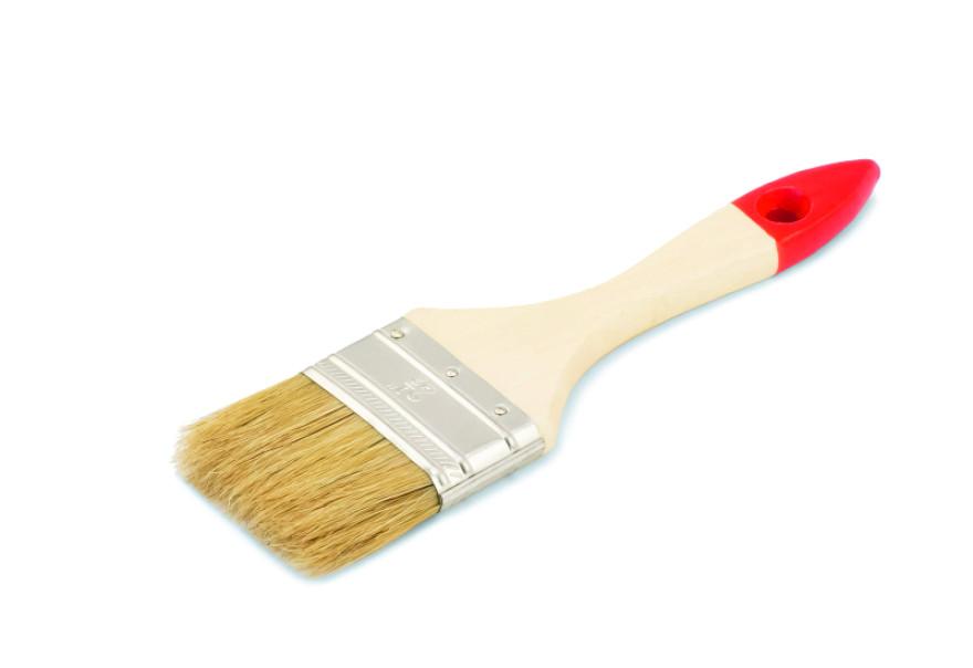 COLOR EXPERT Flat brush  60mm 5th grade,mix, light bristle,lacq.wood.handle