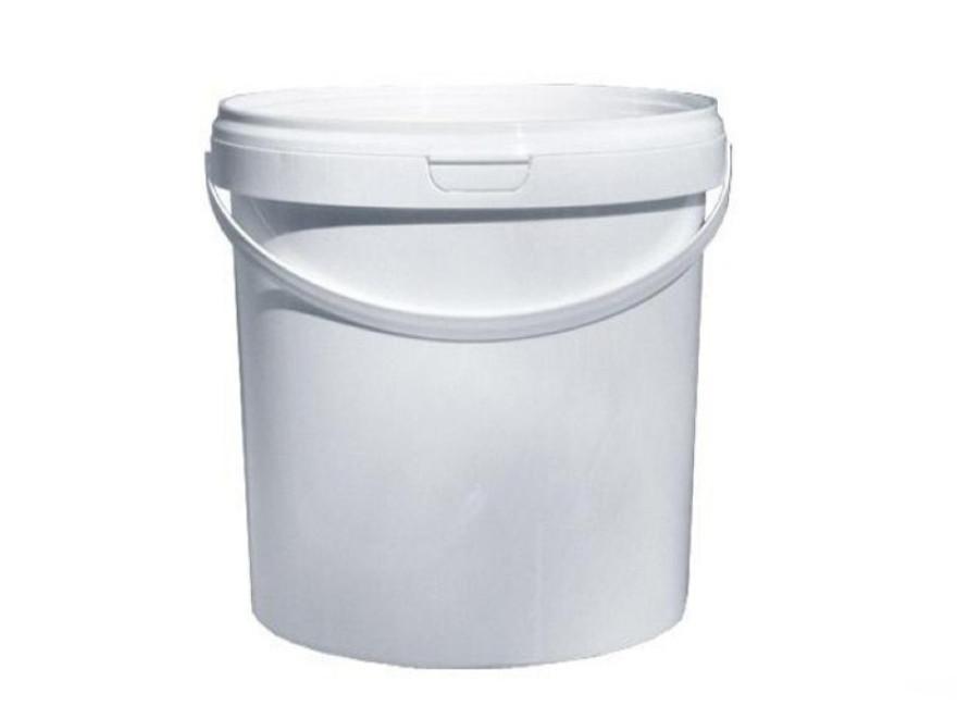 Bucket,plastic handl+cover 11.3l