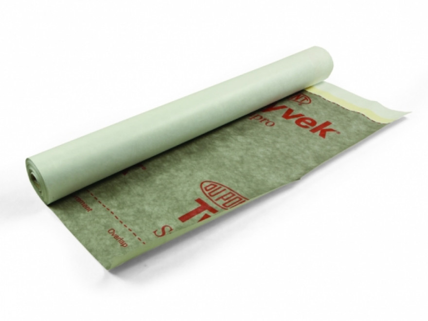 TYVEK Pro Plus Tape 150cm 75m2 / roll, diffusion membrane with micro slits