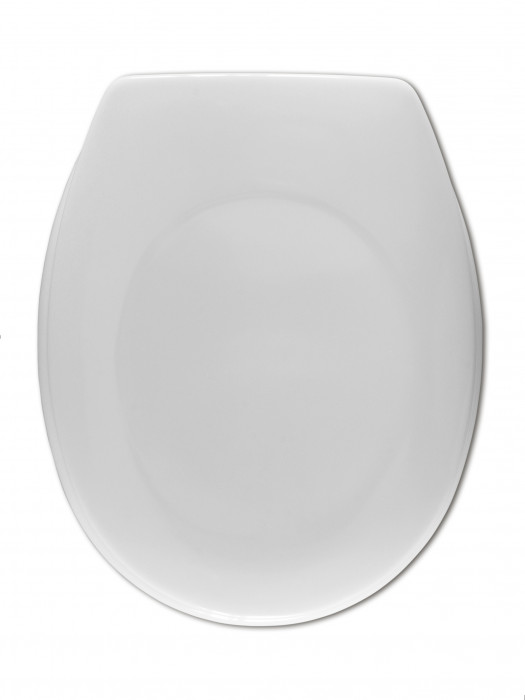 UNIVERSAL toilet seat,duroplast,white, 1.6 kg
