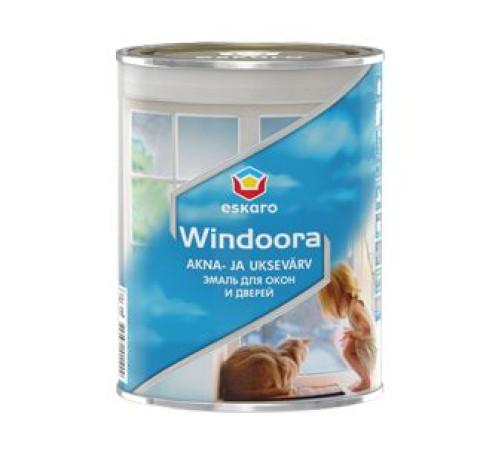 Eskaro WINDORA 0.9L ūdens  bāzes emalja logiem un durvīm