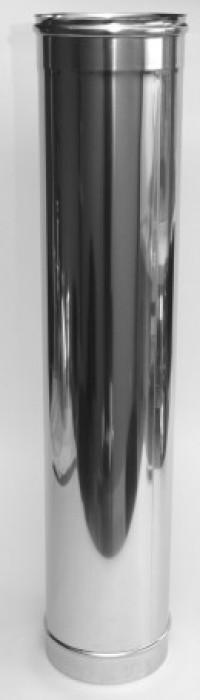 Caurule odere D130/500mm  nerūsējošā tērauda , apaļa  Vilpra