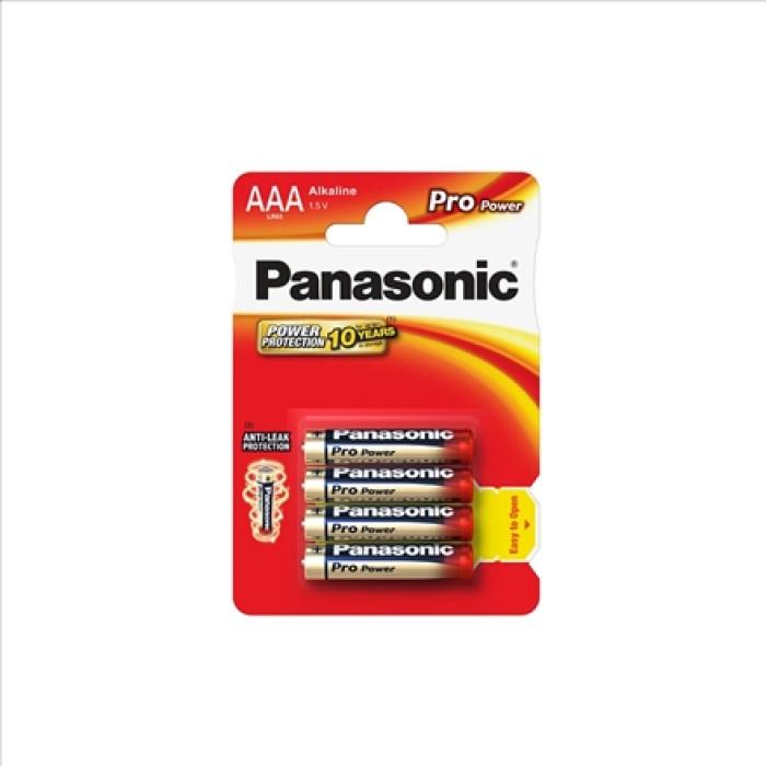 BATTERY PANASONIC PRO POWER AAA 4PCS./PACK