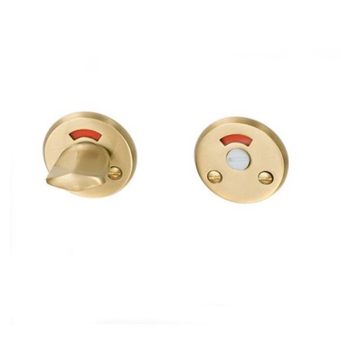 WC knob brass satin