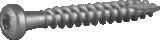 Essve anchor bolt for building forgings 5.0x40 CS (250 pcs.) 102667