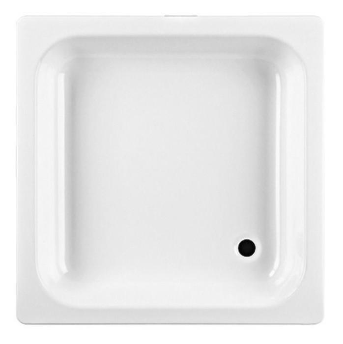 Dušas paliktnis JIKA SOFIA  90x90x14.5, tērauda, balts