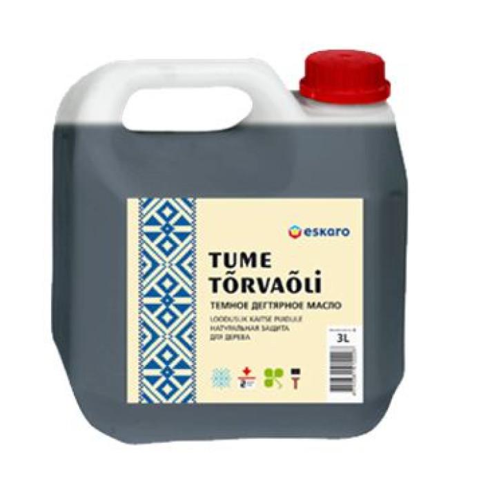 Eskaro Tar oil dark 1 L