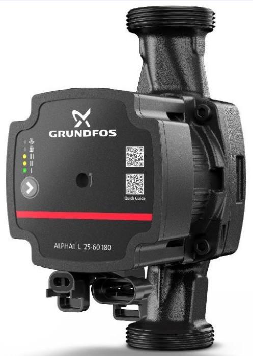 Grundfos cirk.sūknis ALPHA1 L  25-60 180mm 99160584