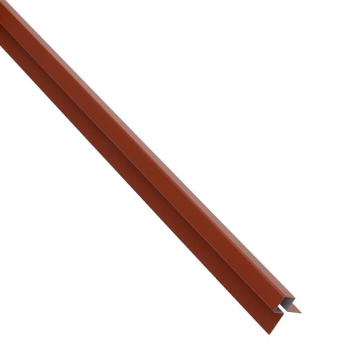 MC TEMPSI Stūra līste 1.25m sarkana metāla 34R
