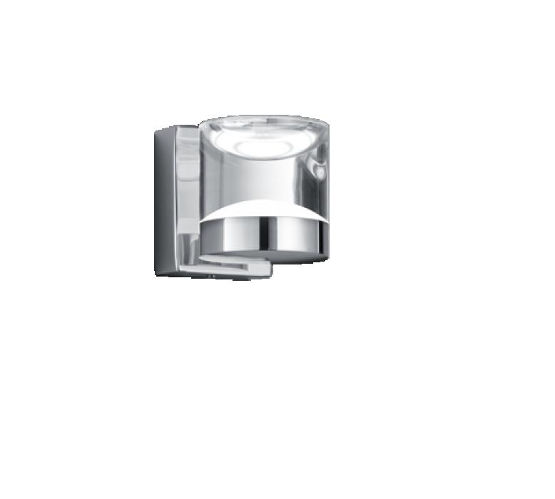 Настенный светильник TRIO Brian 1XLED SMD 3.6W 260Lm 3000K IP44 chrome 282710106