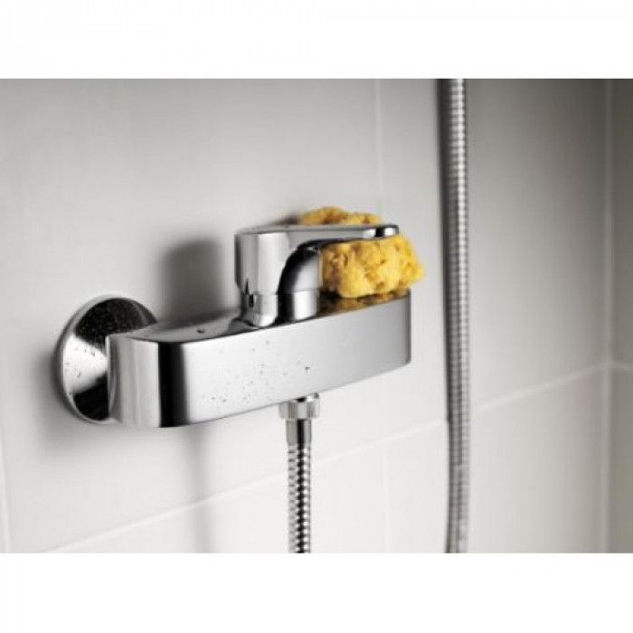 Shower faucet Nautic - single-lever With shower connection downwards, 150 c-c