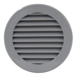 ventilationgrilleplastic,Ø100mm,grey