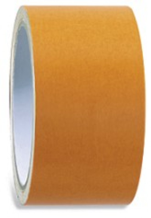 COLOR EXPERT Carpet tape fabric 50mmx25m,brown synthetic resin glue
