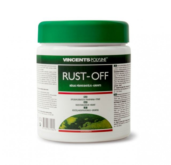 Vincents RUST OFF 0.25L rust converter
