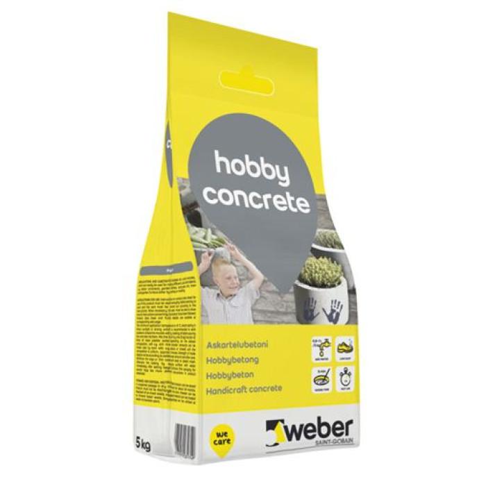 Weber Hobby concrete 5kg Cementa java rokdarbiem